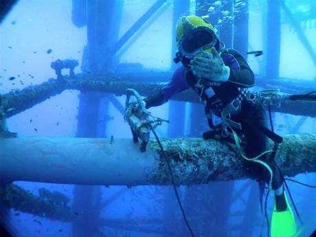 六安水下录像
