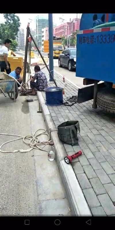 赣州污水管道堵漏封堵