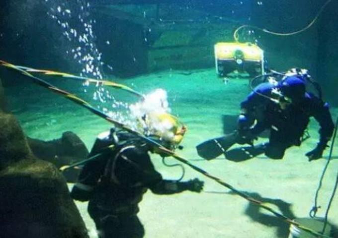 西安水下录像