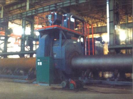 供应大型钢管通过式抛丸机