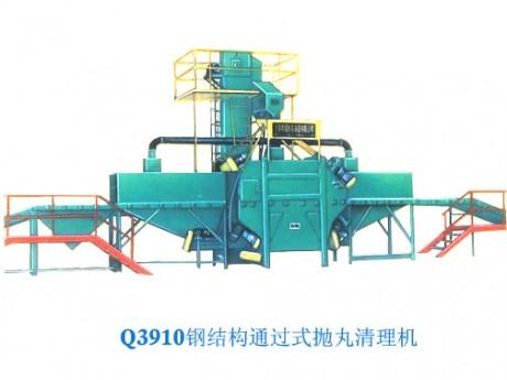 供应钢结构通过式抛丸机