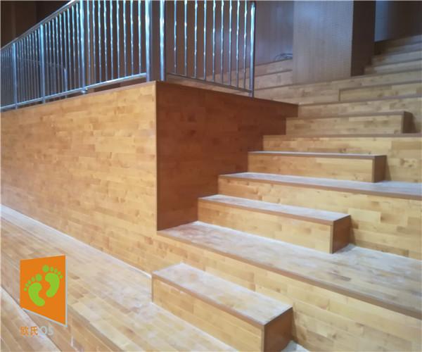 秦皇岛室内体育地板 室内篮球场木地板