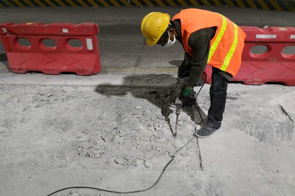 聊城聚合物高强修补砂浆符合标准桥梁柱子冻融脱落修补