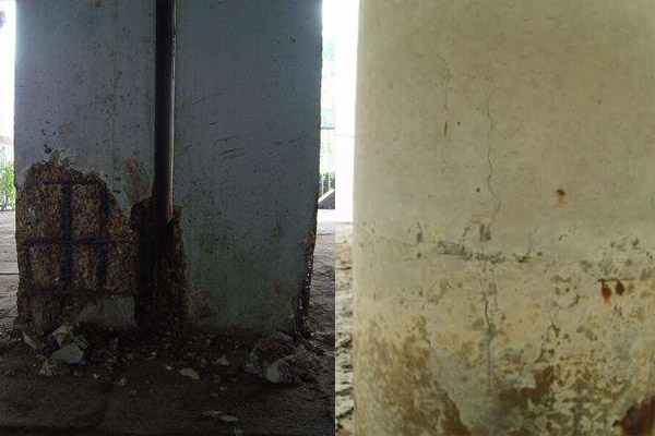 鞍山混凝土加固修补砂浆厂家报价现浇楼板麻面蜂窝修补