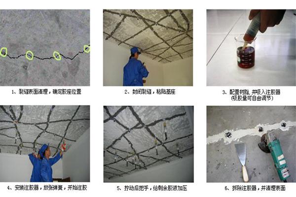 邯郸环氧灌浆树脂胶厂家推荐混凝土结构裂缝修复