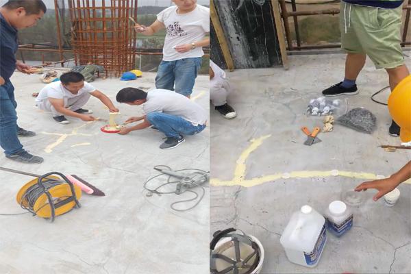 三亚改性环氧树脂注浆液价格楼板裂缝处理