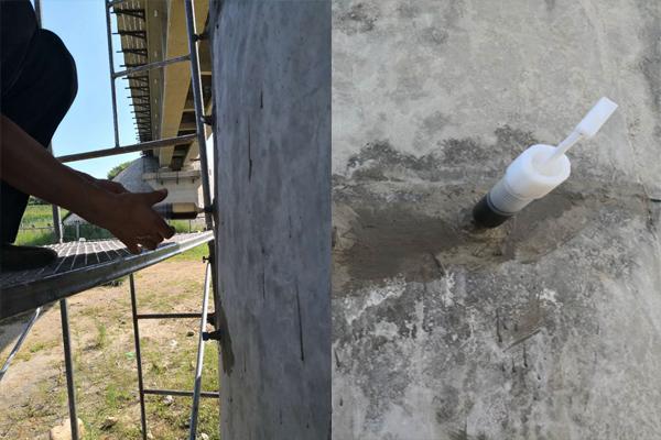 青岛环氧树脂裂缝压注胶厂家直销混凝土结构空鼓修复