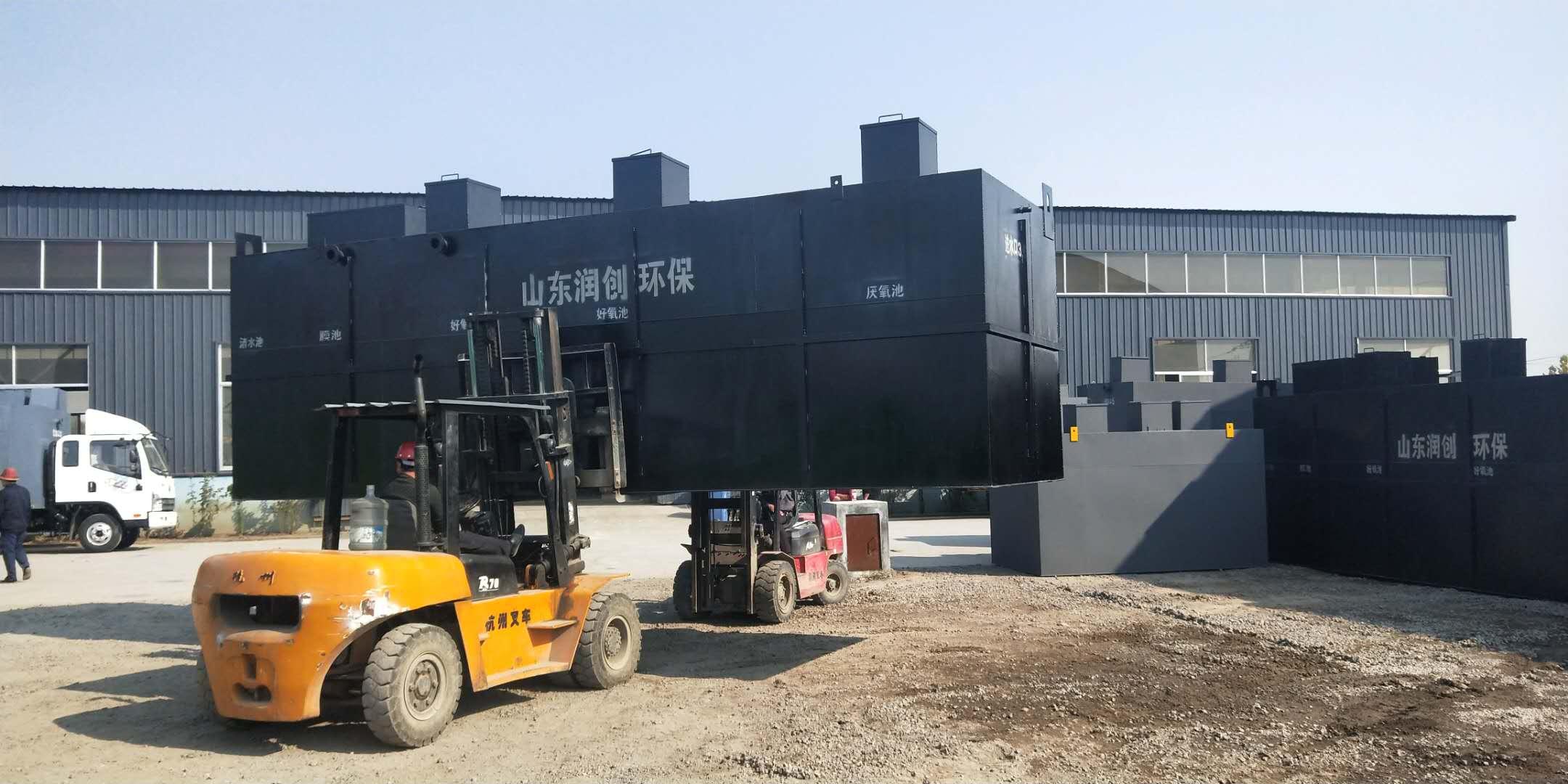 福泉小区生活污水处理设备工艺介绍