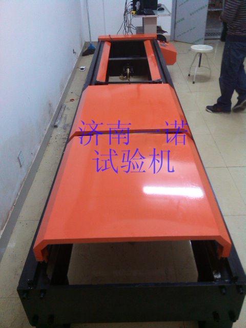濟寧礦車三環鏈拉力試驗機 礦車銷子2倍靜拉力試驗機