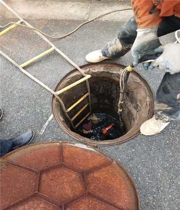 黄山市政管道封堵