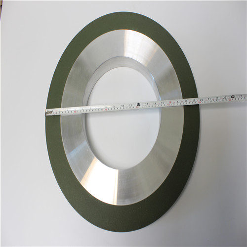 Surface coating hot spraying resin bond diamond grinding wheel