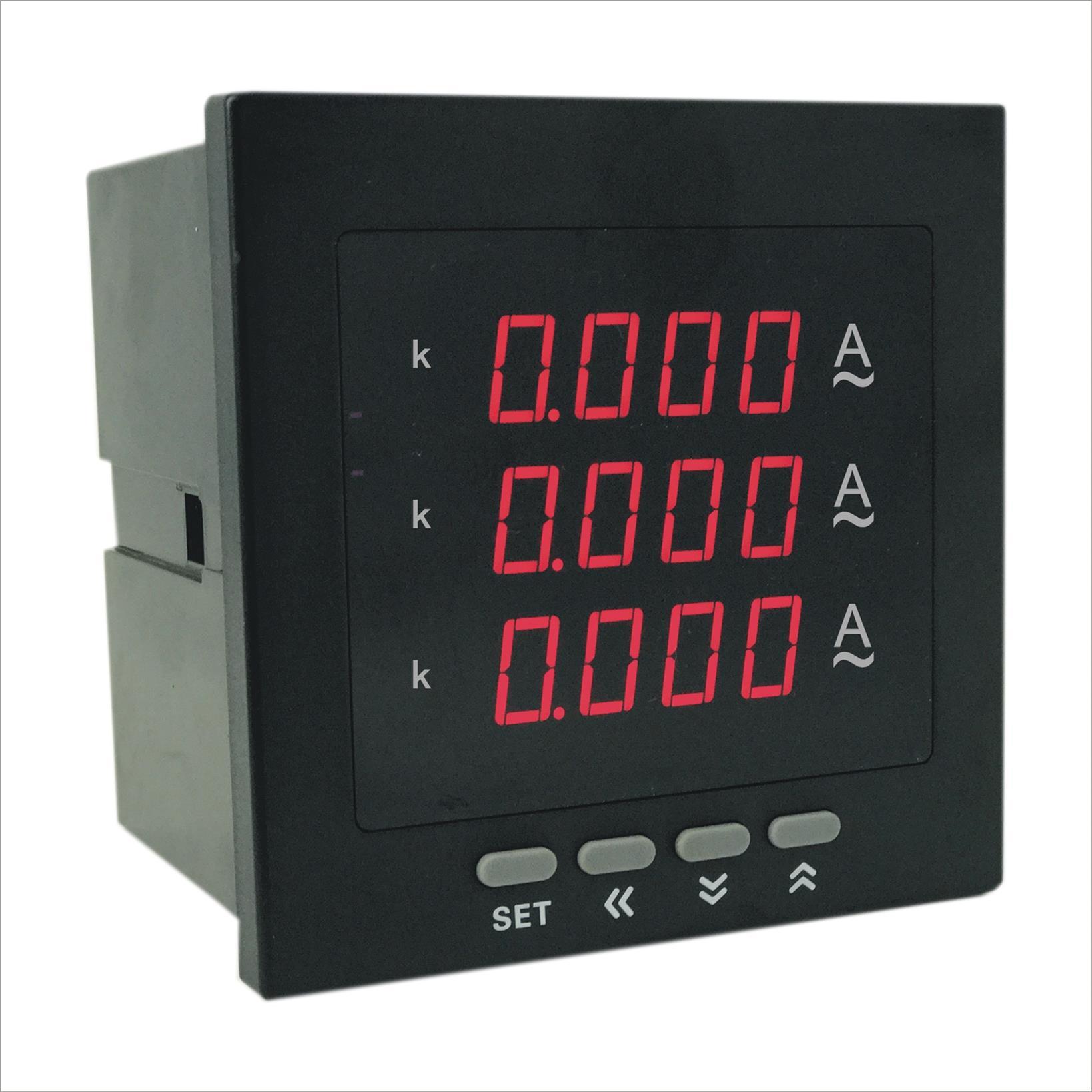 AOB184Z-3X4-3I数显三相电流表价格 多功能系统 奥宾