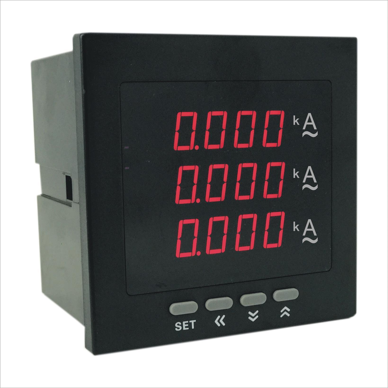 电子数字昹�.�/d��*z+�_智能数字三相电流表销售商 厂家直销质量保证