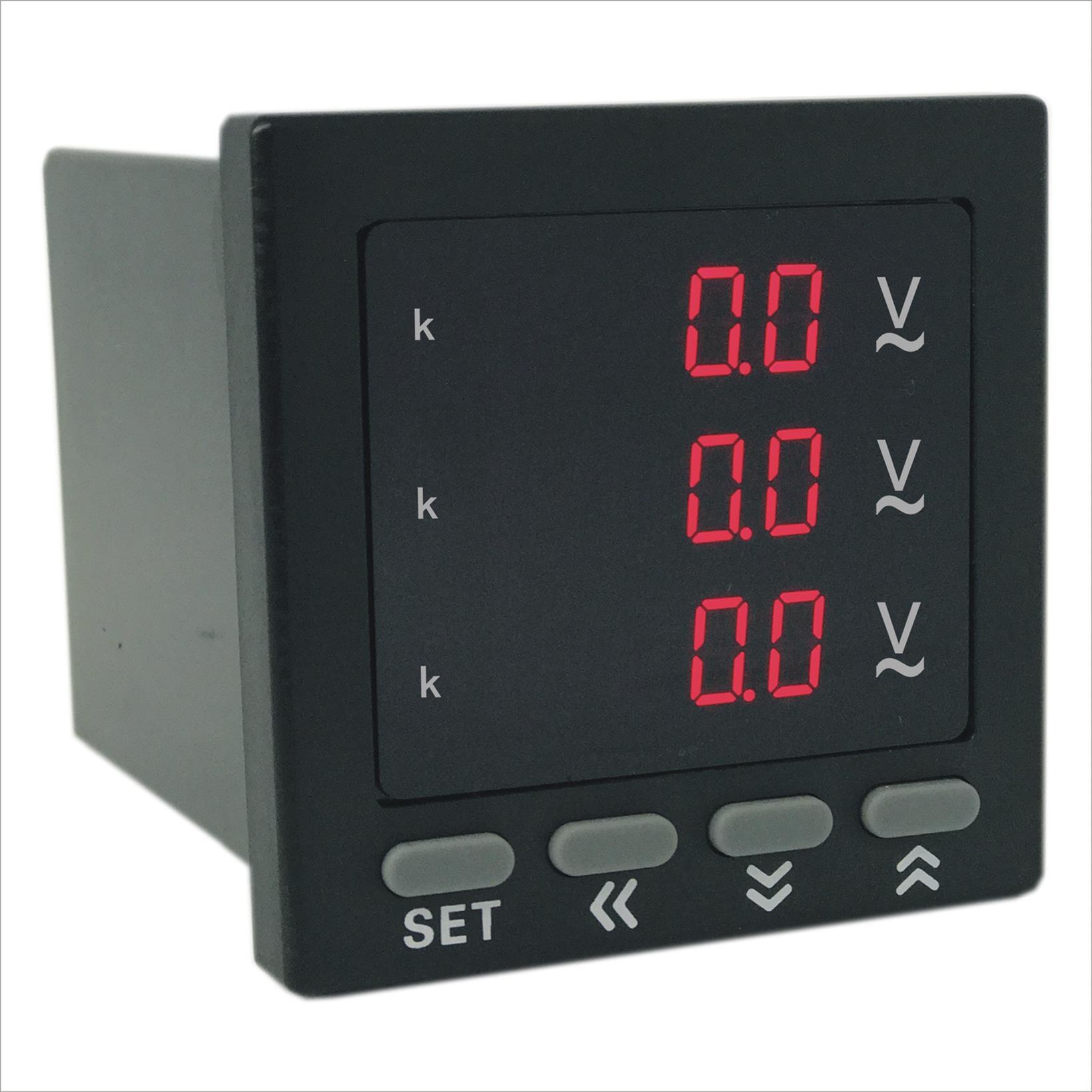 AOB184Z-9X4-3U数字三相电压表
