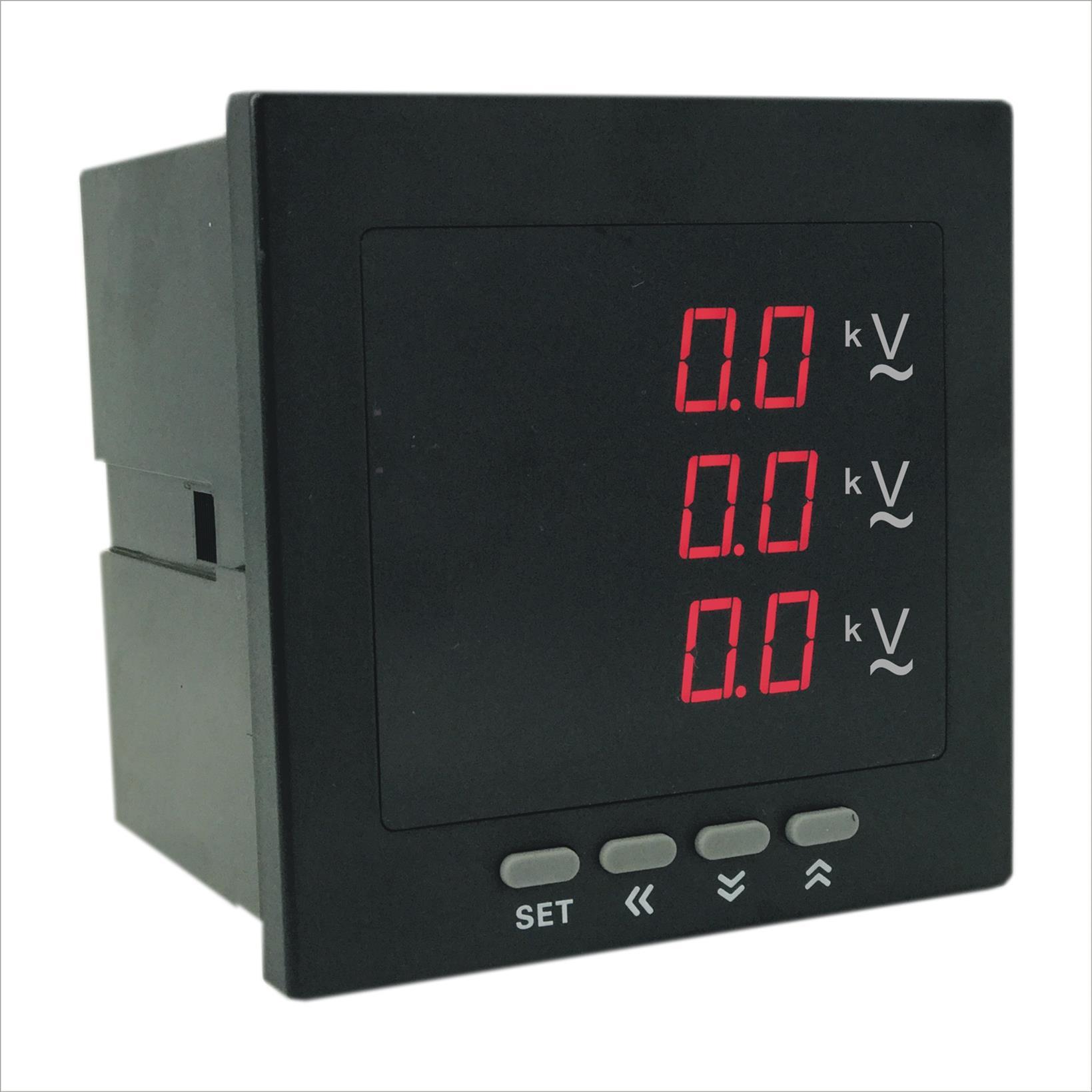 AOB394Z-8X4-3U智能数字三相电压表零售 专业生产厂家 奥宾