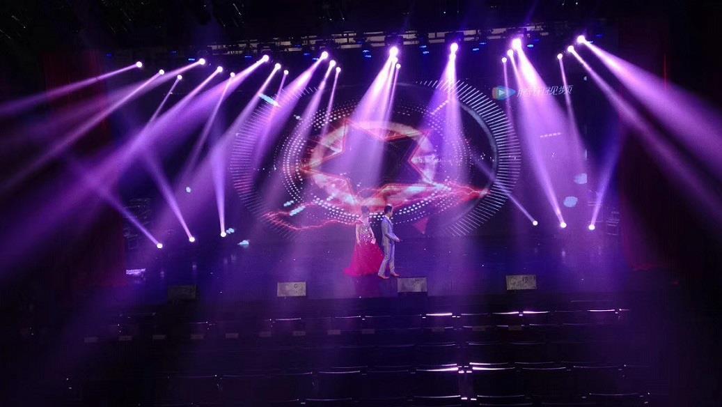 上海服装发布会舞台灯光设备租赁公司