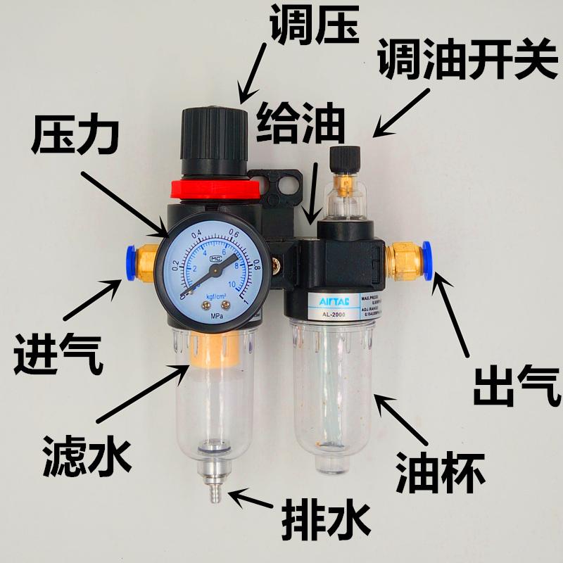 AFC2000氣動二聯件油水分離器