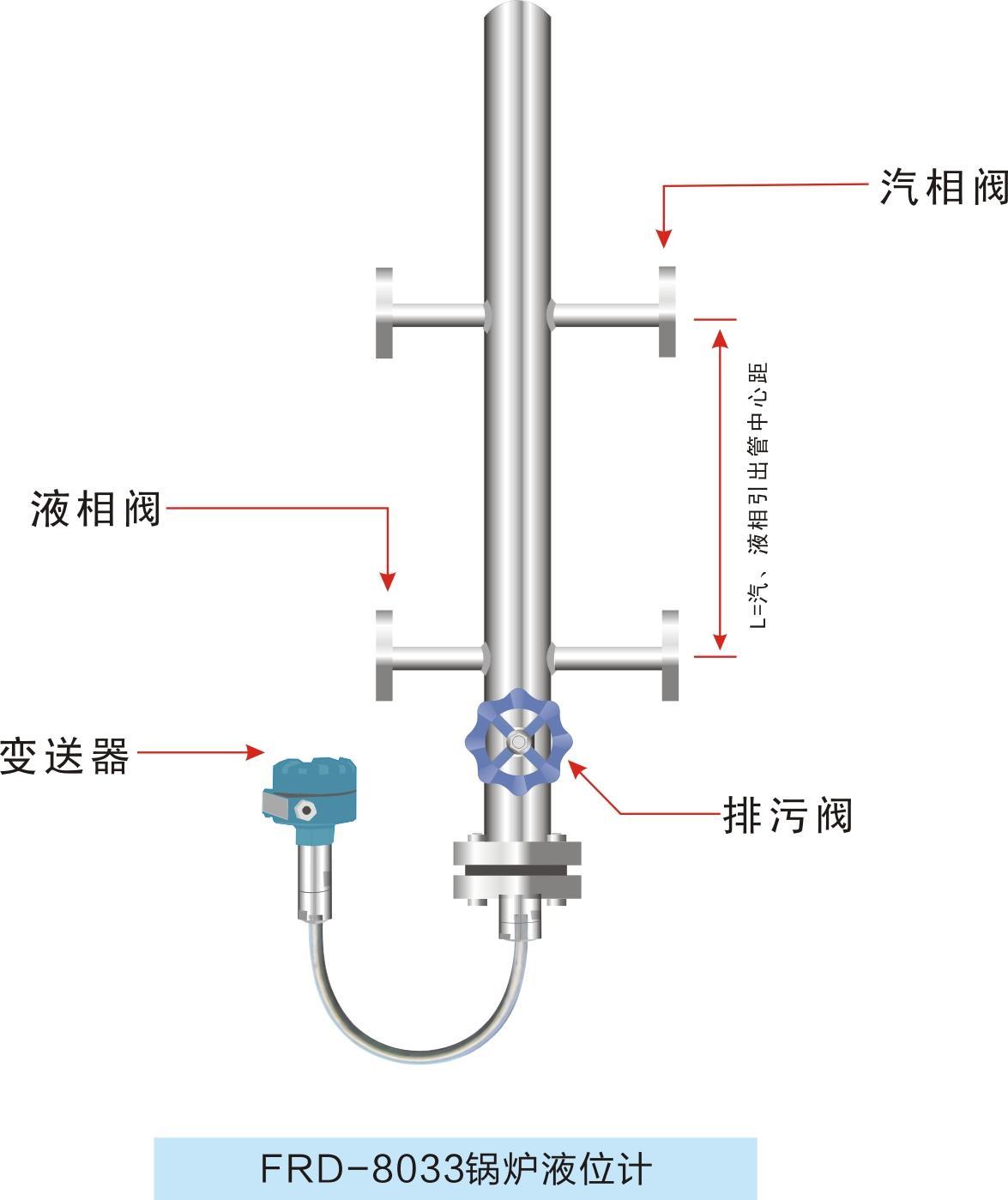 葫蘆島除氧器智能鍋爐汽包液位計 高溫加熱器