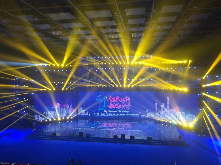 上海专业的舞台灯光设备租赁多年搭建经验