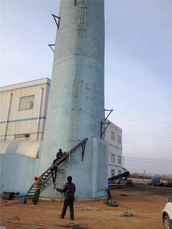 鐵嶺專業承接煙囪爬梯安裝公司