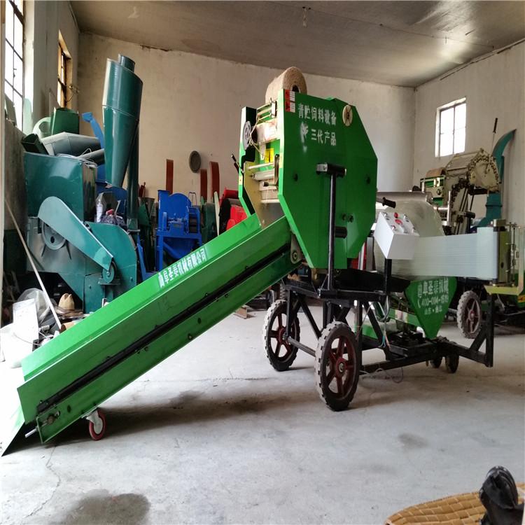 行走式麥秸撿拾打捆機廠家 收割粉碎打包機價格