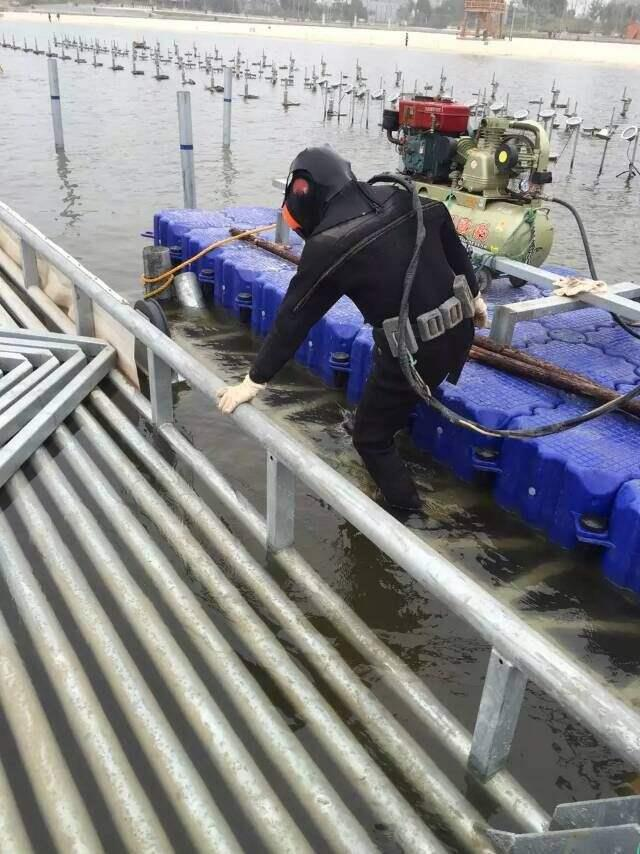 桂林潜水排污管道封堵施工