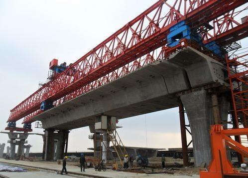 朝阳管庄桥梁节段拼接结构胶格