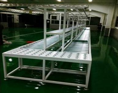 供應無動力組裝生產線