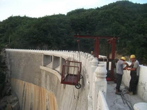 湖州水库大坝堵漏
