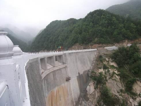 山西水库大坝堵漏