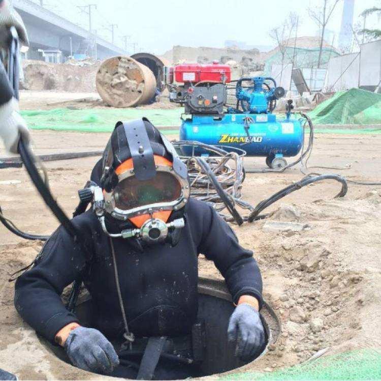 朝阳潜水排污管道封堵施工