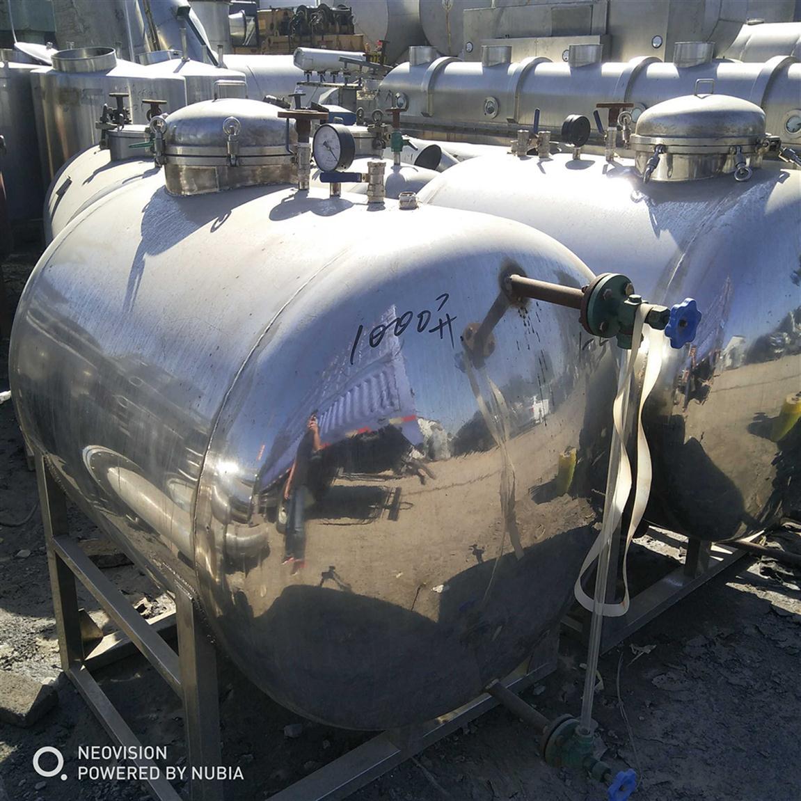 银川回收二手不锈钢储罐