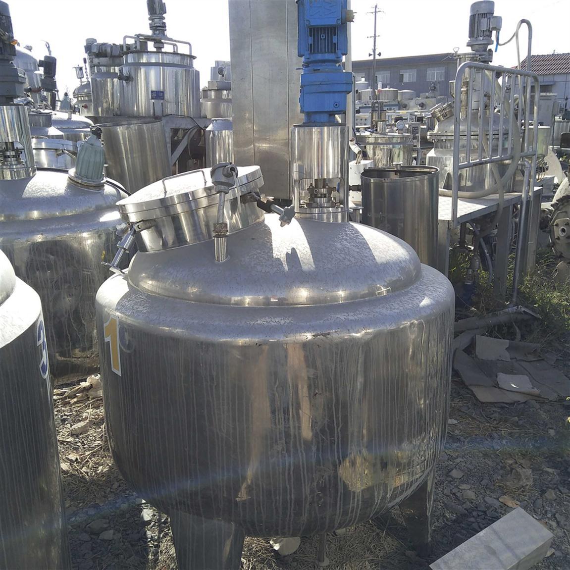 湖北回收二手不锈钢储罐