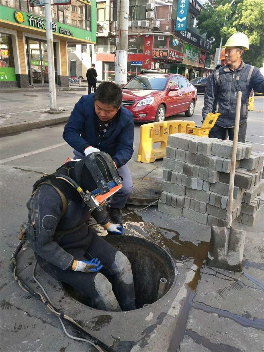 铜陵潜水排污管道封堵施工