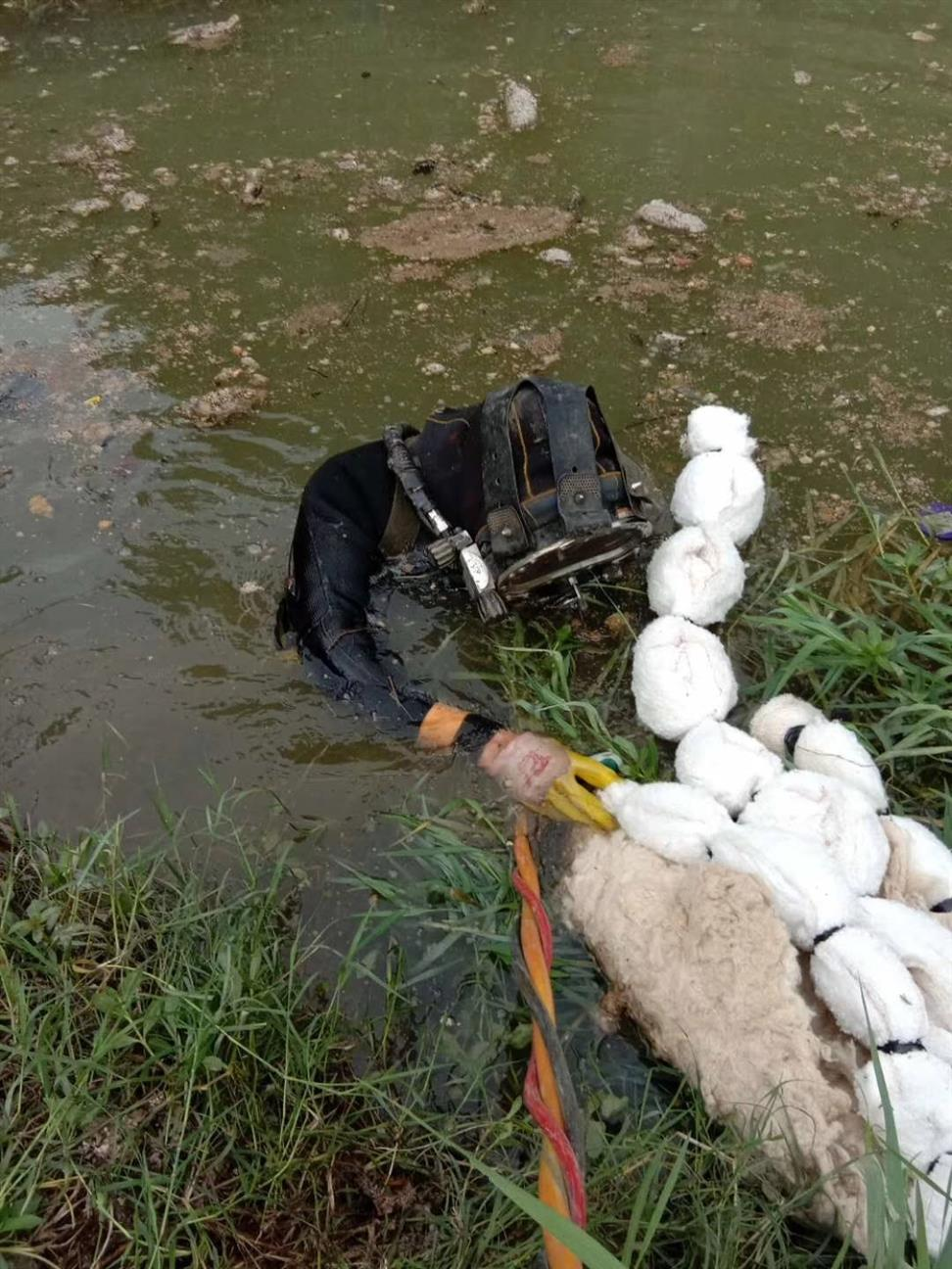 白城潜水堵漏公司