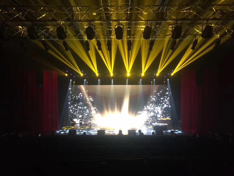 上海LED显示屏舞台灯光设备搭建公司