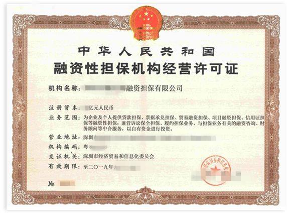 上海出让融资担保操作流程