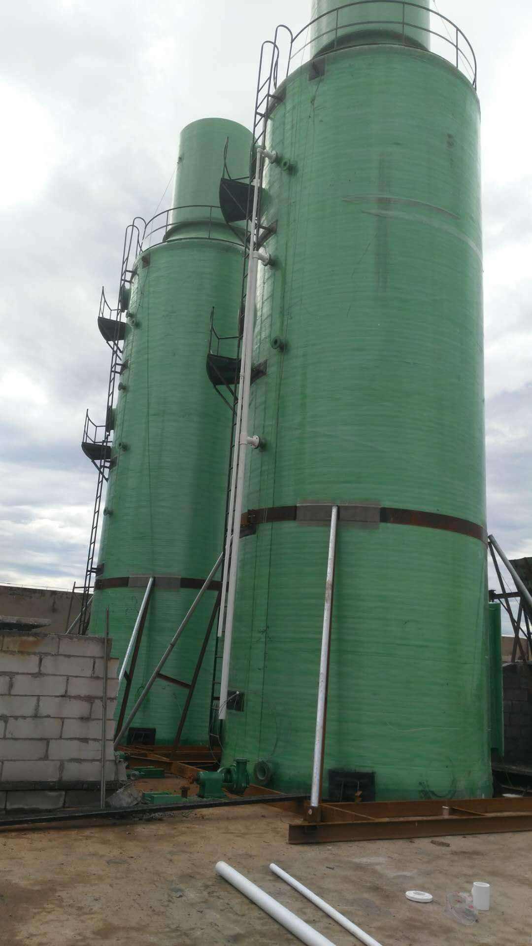 防城港专业生产玻璃钢脱硫塔