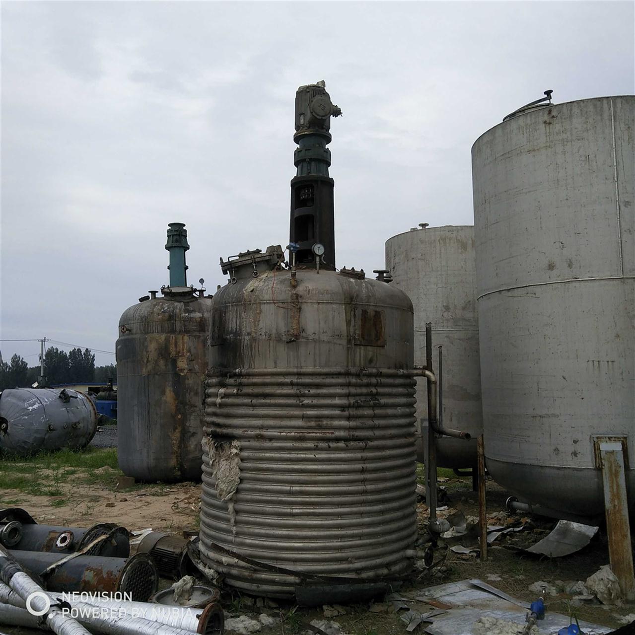 淮北回收反应釜
