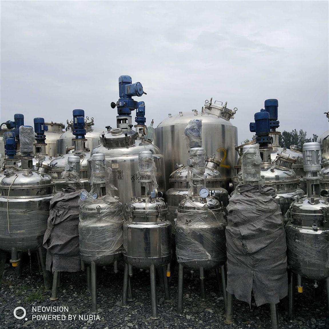 锦州回收二手不锈钢搅拌罐