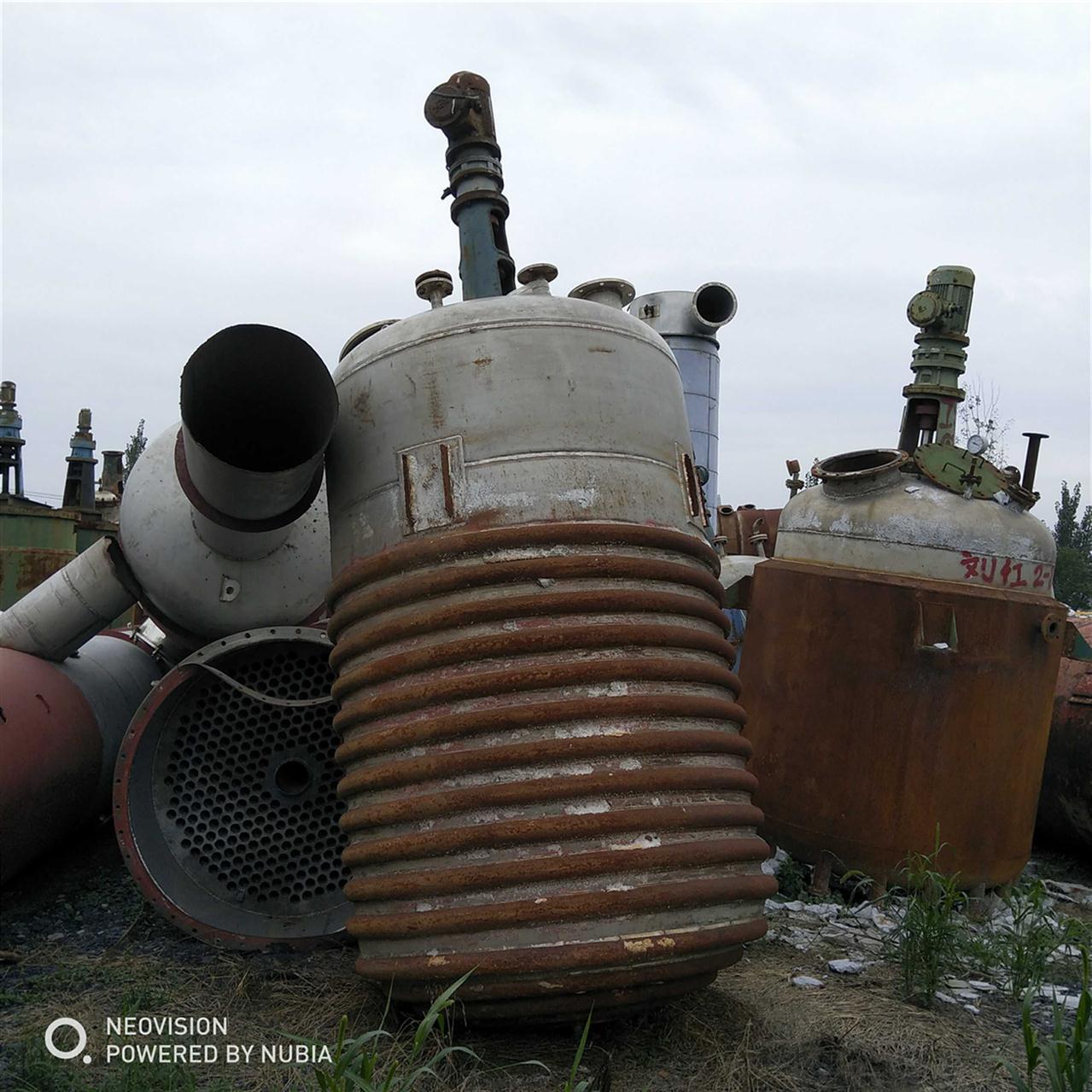 河北回收反应釜