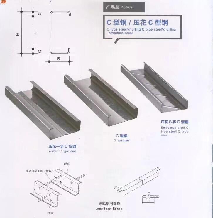 河源C型钢价格