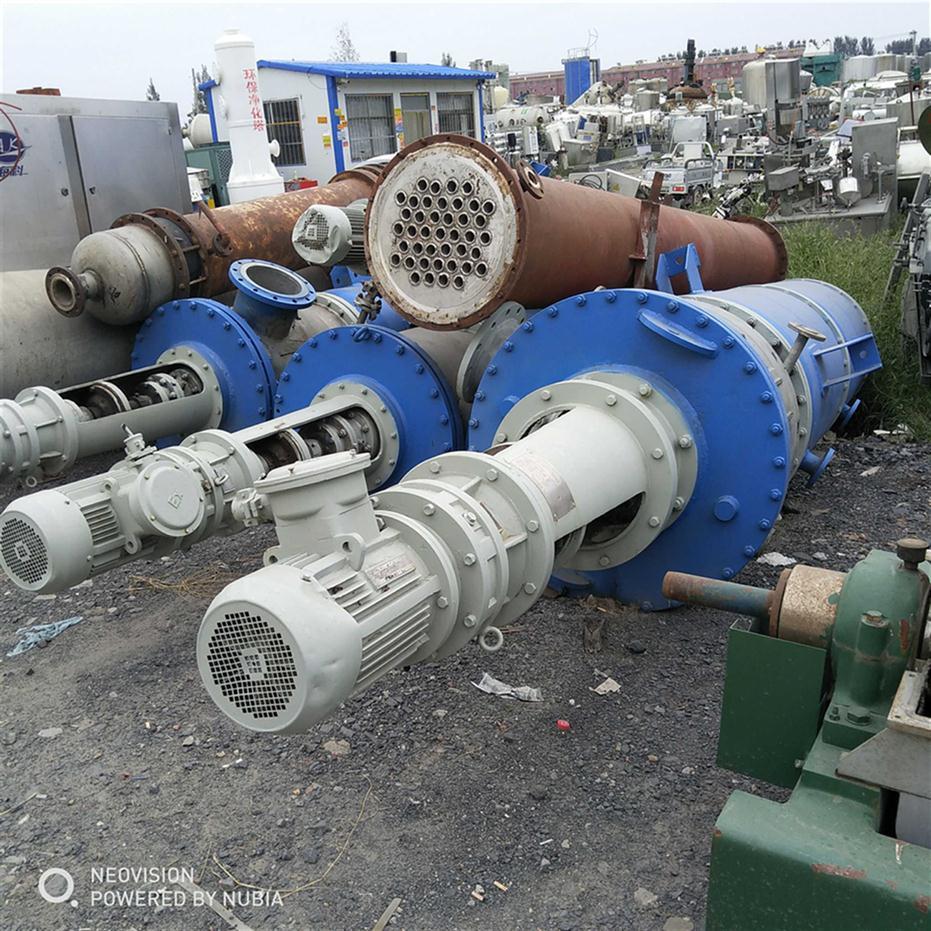 广西回收二手刮板薄膜蒸发器
