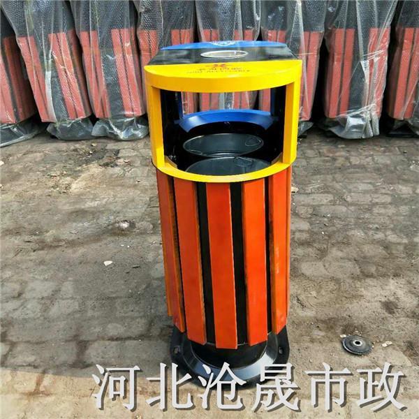 乌海户外垃圾桶冲孔垃圾桶