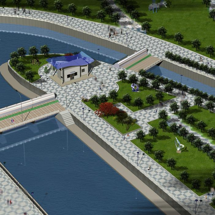 新城区热门风景园林设计定制