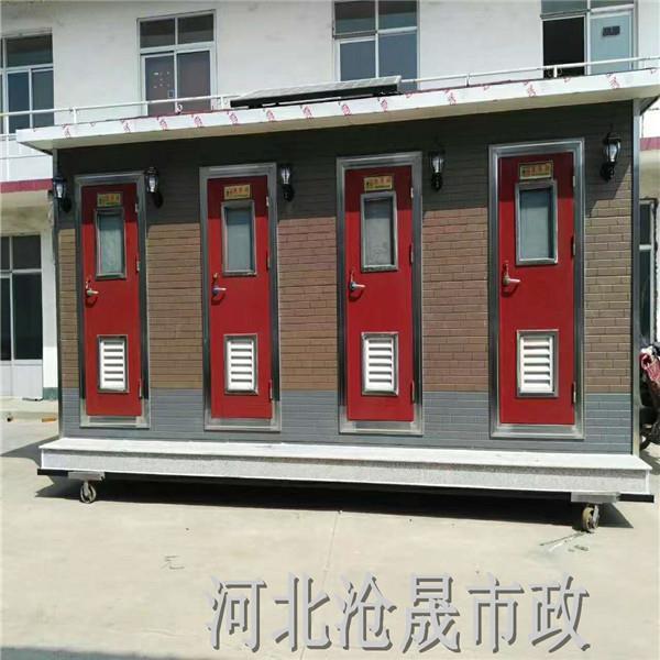 赤峰移动厕所厂家出租