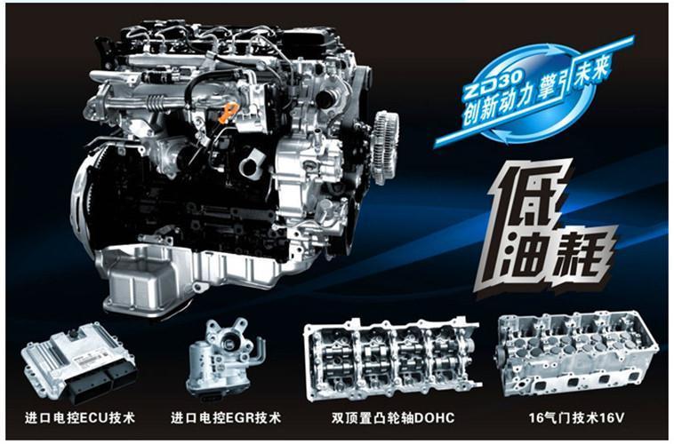 昌吉东风凯普特ZD30发动机配件