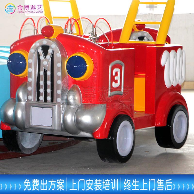 广东滞销新奇儿童游乐装备12人消防战车贩卖批发价