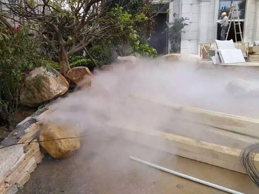 长沙假山园林人造雾景观水池造雾机设计咨询pcb板logo绘制图片