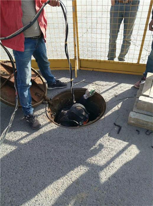 资阳市水下铺设-水下清泥-潜水公司